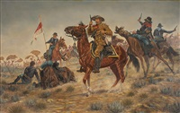 custer's last stand by joe grandee