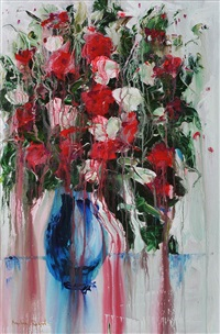 flower study i (study) by angelina raspel
