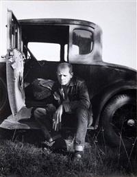 le peintre jackson pollock by hans namuth