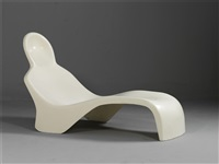anthropomorphic chaise longue by luigi colani