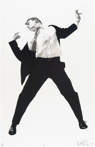 untitled i 2 others 3 works by robert longo