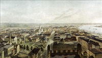 new orleans from st. patrick's church 1852 (by j.w. hill & smith) by benjamin franklin smith