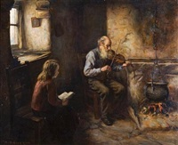 the old fiddler by henry john dobson