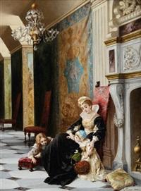 gioco di bimbi a palazzo by luigi crosio