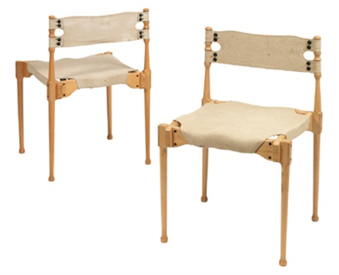 montreal stacking chair another pair by frei otto