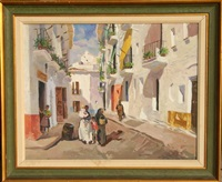 calle manchega by isidro antequera