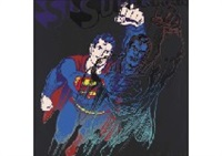 superman from myths by andy warhol