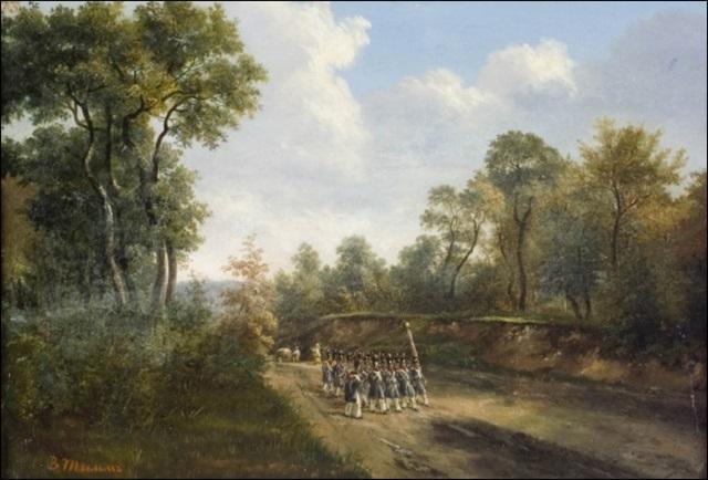 sotilaita muodostelmassa by vasili fedorovich george wilhelm timm