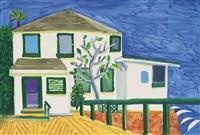 malibu house by david hockney