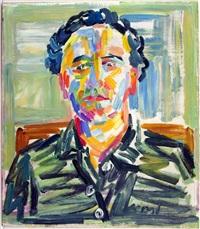 portrait eines mannes by josef versl