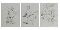 untitled (3 works) by alexandros vasmoulakis