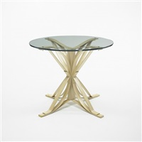 face off cafe table by frank gehry