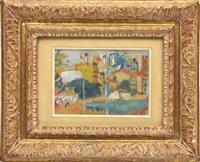 nice / alpes maritimes by jean pougny