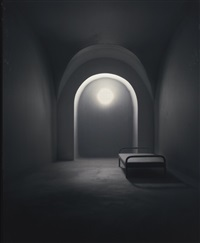 a barrel vaulted room by james casebere