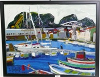 le port de la ciotat by georges coulomb