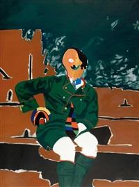 il pittore de monaco by eduardo arroyo