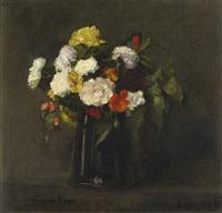 fleurs by henri fantin-latour