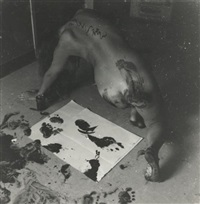 untitled, providence, rhode island (self-portrait) by francesca woodman