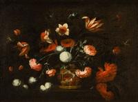 cesta de flores by josé de arellano