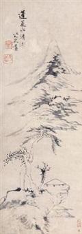 蓬莱水清 by bada shanren