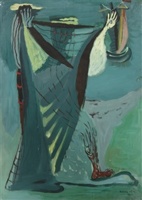 le pêcheur by sigismond kolos-vary