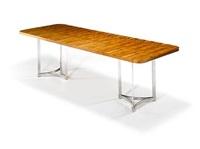 an extending dining table by merrow associates