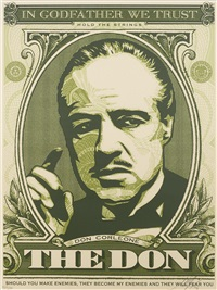 the godfather series (set of 4) by shepard fairey