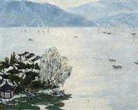 西湖帆影 by xiao feng