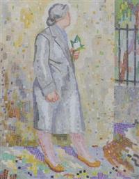 femme au muguet by charles auguste humbert