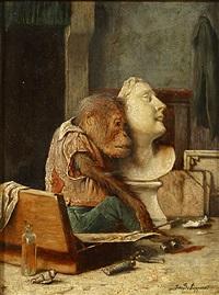 l'artiste amoureux by joseph schippers