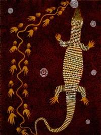 lizard story by anatjari tjakamarra