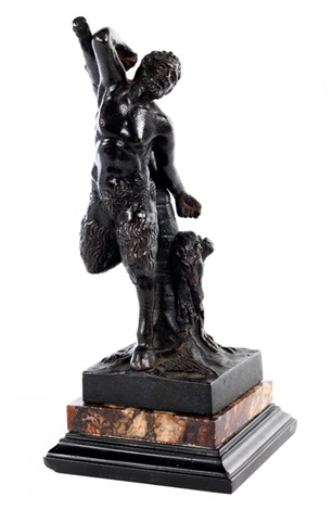 bronzefigur des marsyas by anonymous italian 17