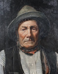 portrait of the twickenham ferryman by alice maud fanner