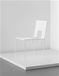 unique chair (from the mimicry chairs installation, commissioned by the london design festival) by nendo