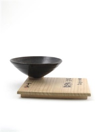 chawan (tea bowl) by ishiguro munemaro