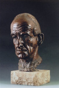 head of jack butler yeats, r.h.a. by brenda st. john gogarty