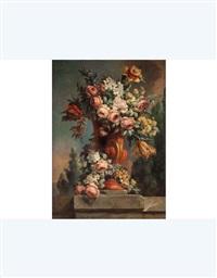 vaso fiorito by michele antonio rapous