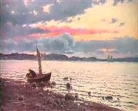 segeleka vid strand by einar torsslow