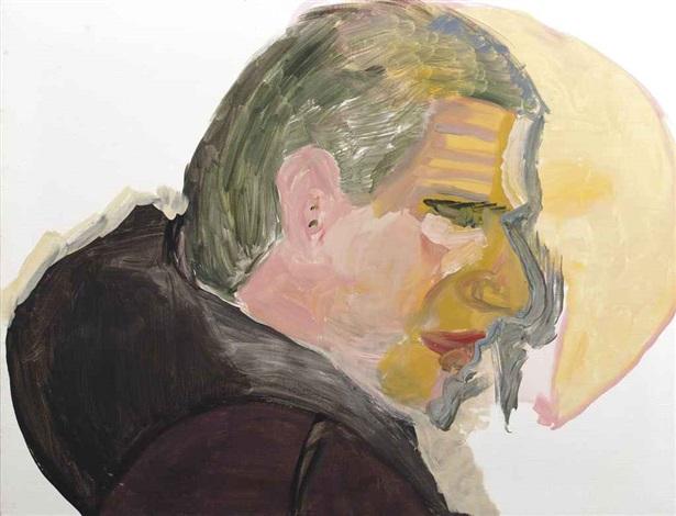 portret met maanlicht portret van gerard reve by emo verkerk