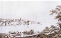 markt mauthausen an der donau by ferdinand runk