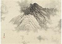 mountains after rain by gyokudo kawai