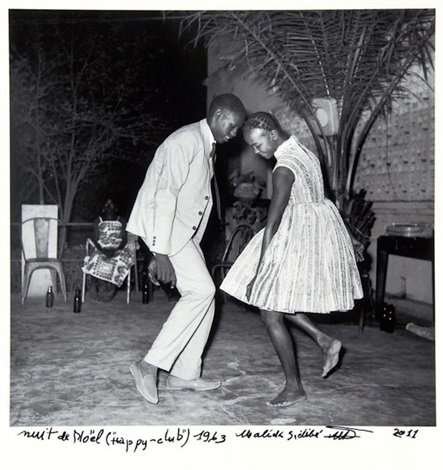 nuit de noël happy club by malick sidibé