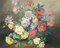 jeté de roses by marie marguerite reol