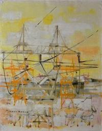composition aux pylones électriques by michel rodde