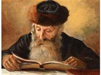 reading rabbi by lazar krestin
