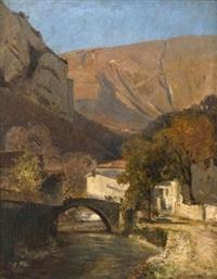 le pont de sassenage by jean-alexis achard