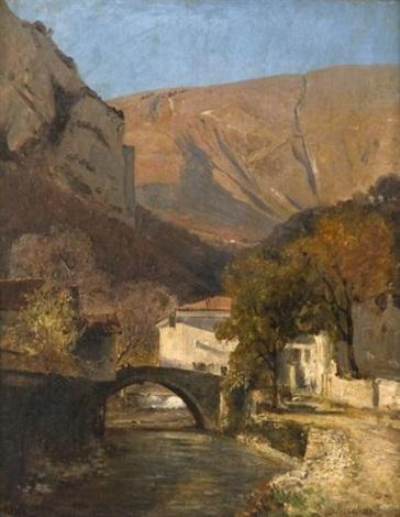 le pont de sassenage by jean alexis achard