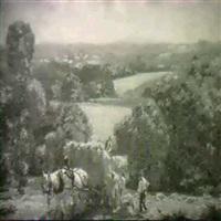 haymaking by edwin harold glasbey