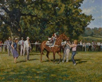 point to point - the paddock holnicote by paul s. gribble