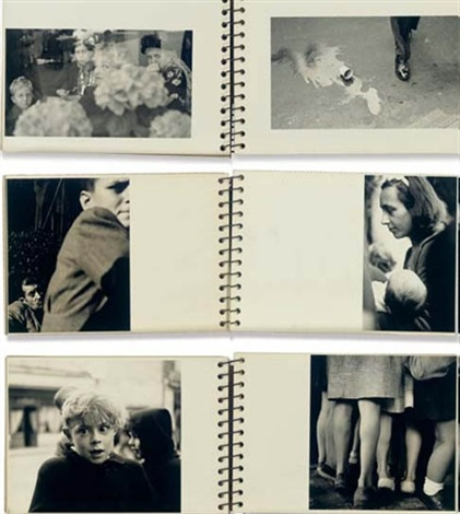 untitled notebook portfolio of 30 by elliott erwitt